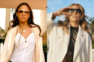 """J.Lo, i 20 anni di """"Love don't cost a thing"""": ricrea il look iconico ma la t-shirt è personalizzata"""
