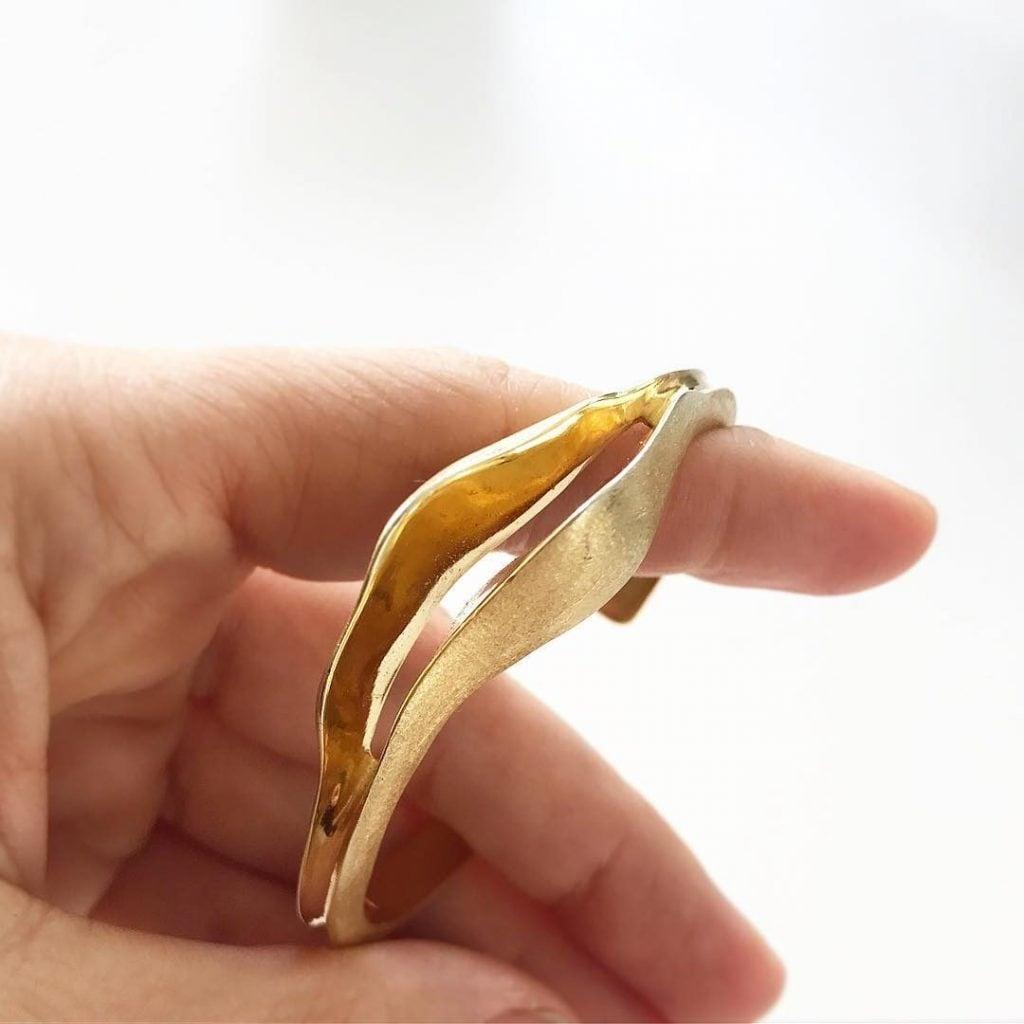 """""""Aretusa"""", bracciale di Morgana Orsetta Ghini"""