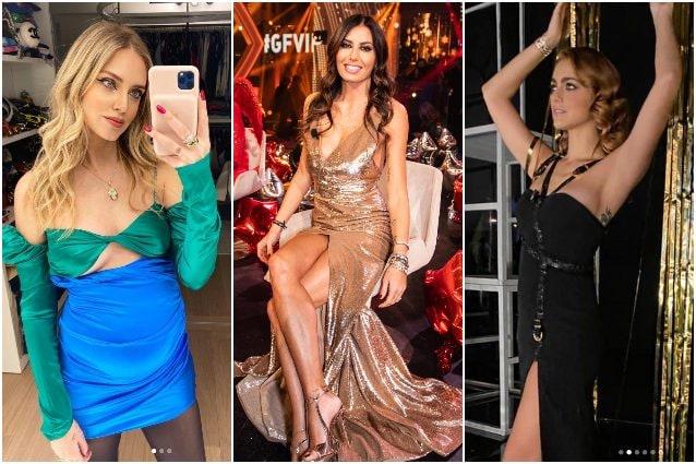 Look da star a Capodanno: il pancione della Ferragni, Miriam Leone è sexy, la Gregoraci veste oro