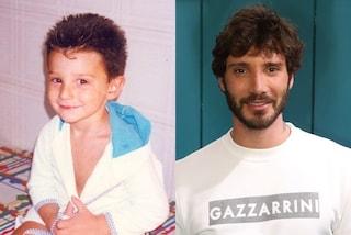Stefano De Martino da piccolo: nella vecchia foto è identico al figlio Santiago