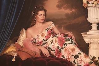 Vanessa Incontrada si trasforma in un'opera d'arte: è lei la nuova modella di Dolce&Gabbana