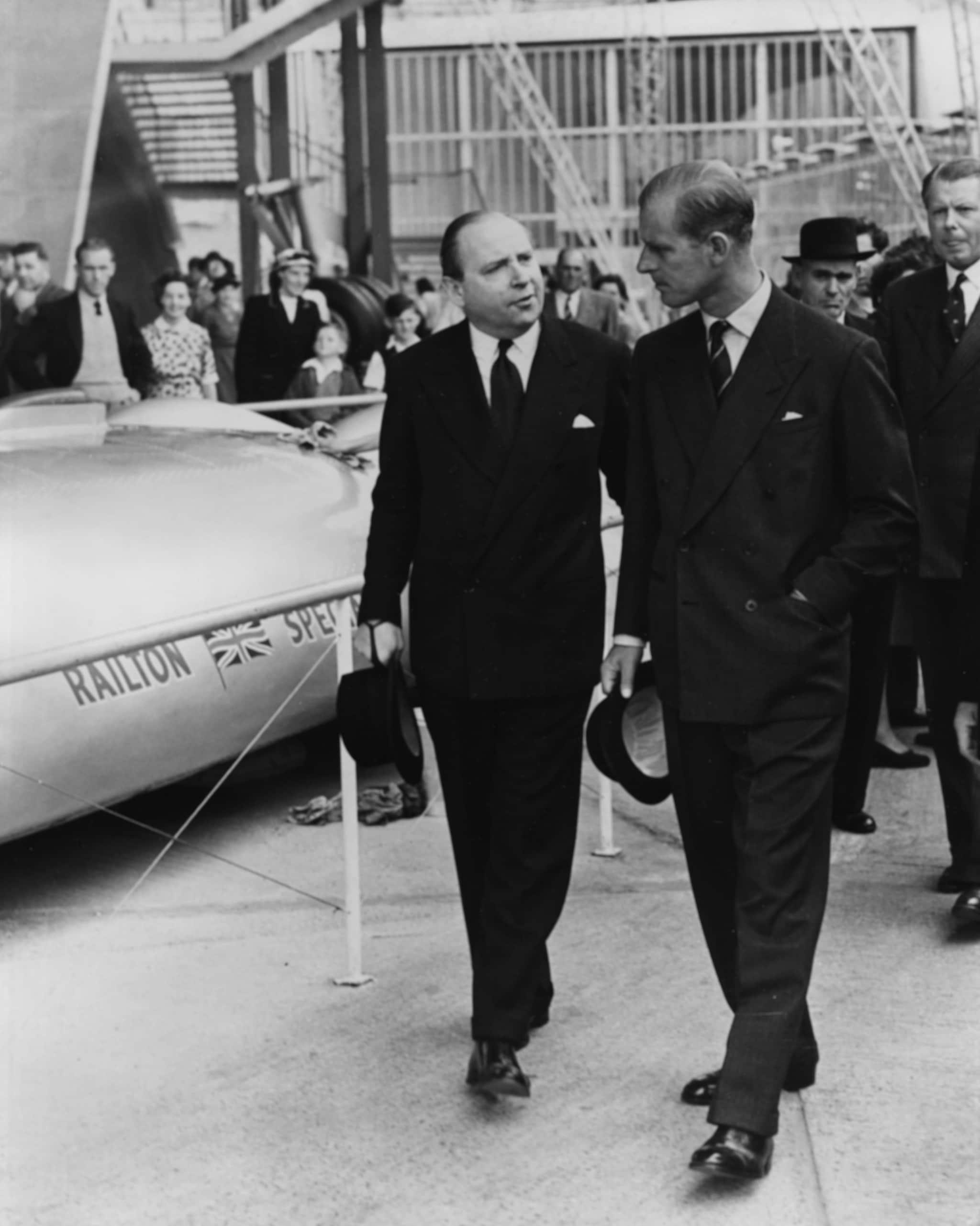Il principe Filippo nel 1951