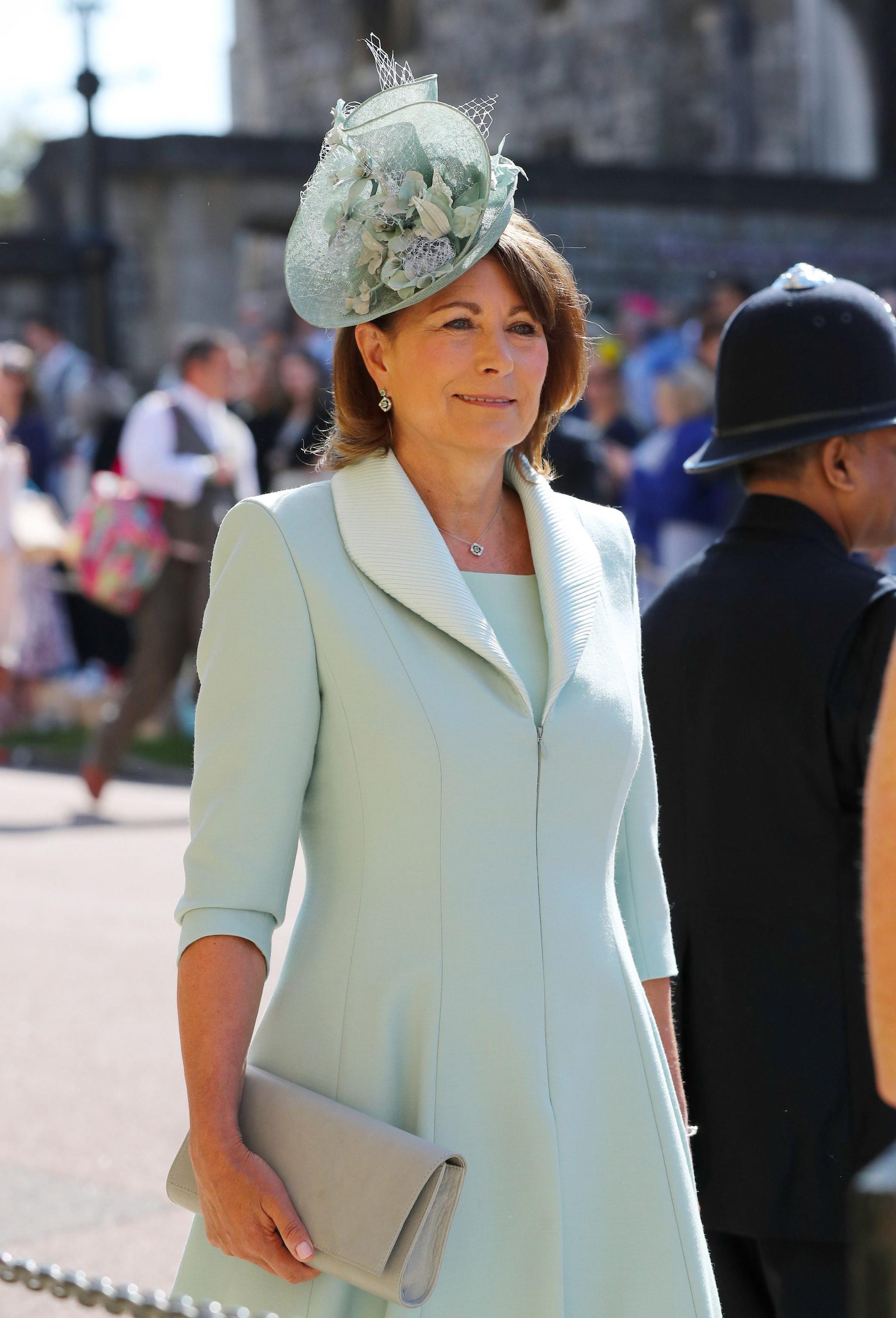 Carole Middleton al matrimonio di Meghan ed Harry