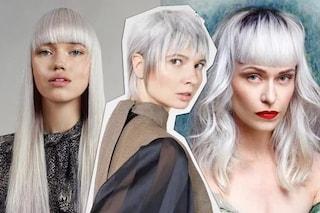 I tagli di tendenza per i capelli bianchi, dal mullet al bob
