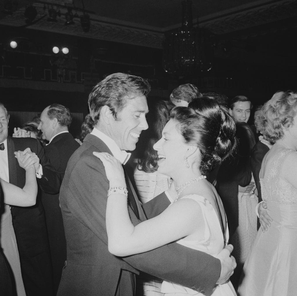 La principessa Margaret con il marito Antony Armstrong–Jones
