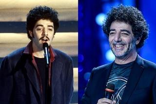Max Gazzé ieri e oggi: com'è cambiato dagli esordi il cantante in gara a Sanremo