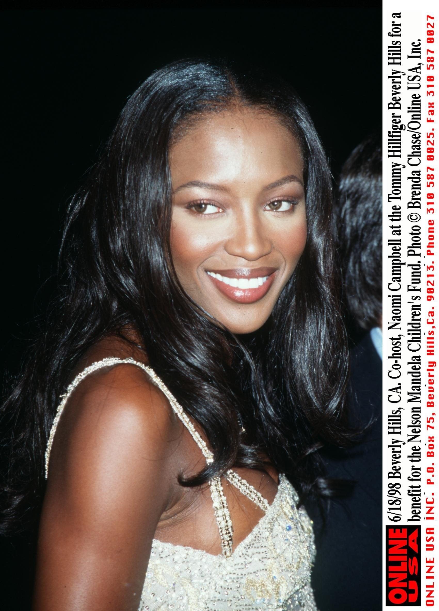 Naomi Campbell nel 1998