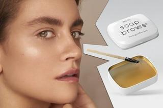 Soap brows, la nuova tendenza delle sopracciglia insaponate