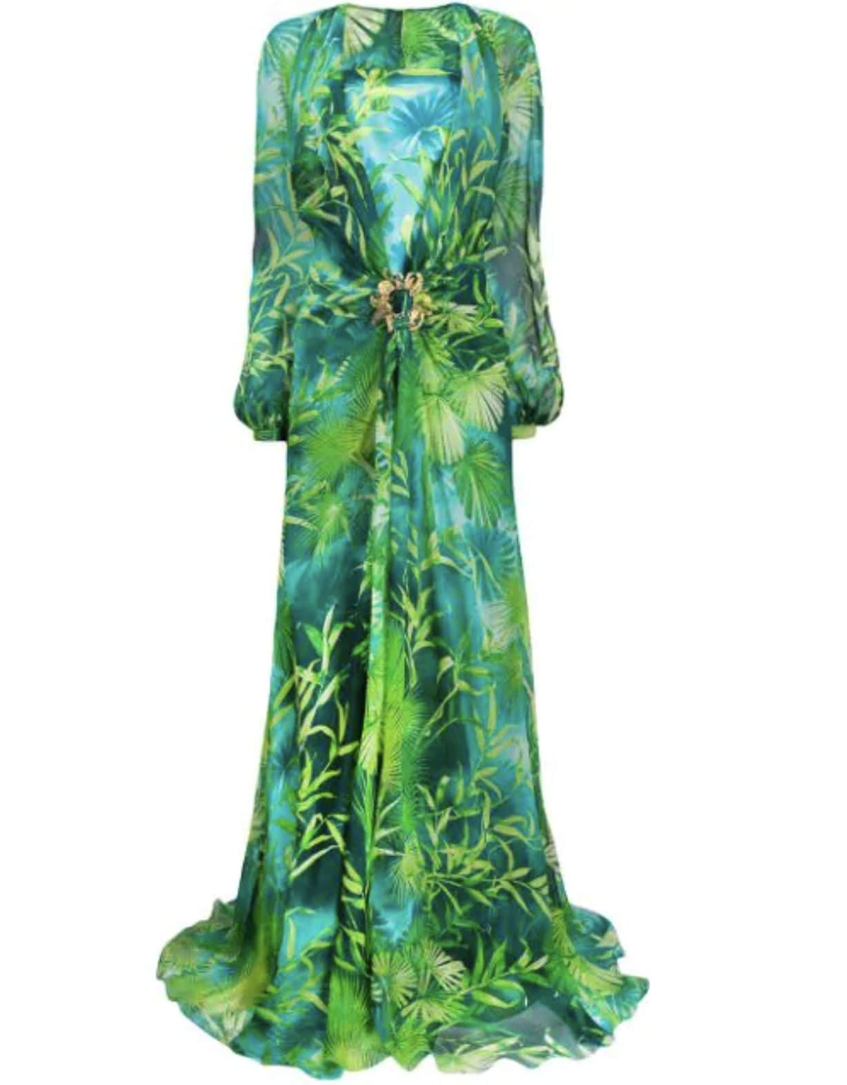 Il celebre Jungle Dress Versace