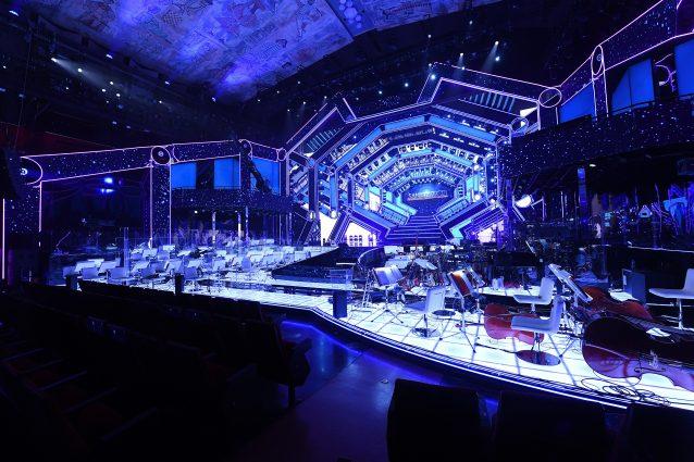 il palco dell'Ariston