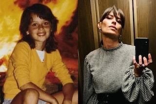 Claudia Pandolfi da bambina: nella foto del passato è identica a oggi