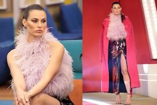 GF Vip, Dayane Mello osa con piume e paillettes: il look multicolor vale oltre 3mila euro
