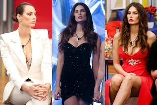 Dayane Mello al GF Vip, dagli abiti romantici alle minigonne sexy: lo stile eclettico della modella