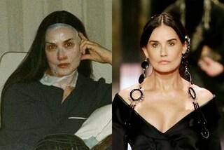 Demi Moore, niente ritocchi e punture: prima dello show Fendi ha usato una maschera viso idratante