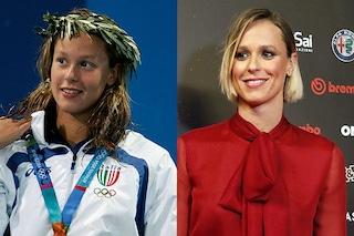 Federica Pellegrini prima e dopo, com'è cambiata la campionessa