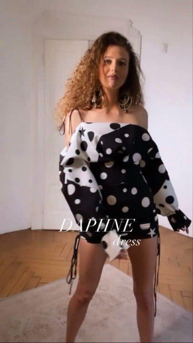 Il Daphne dress di Matteo Evandro