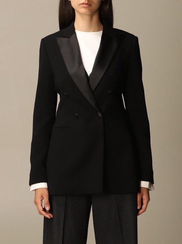 La giacca doppiopetto di Max Mara