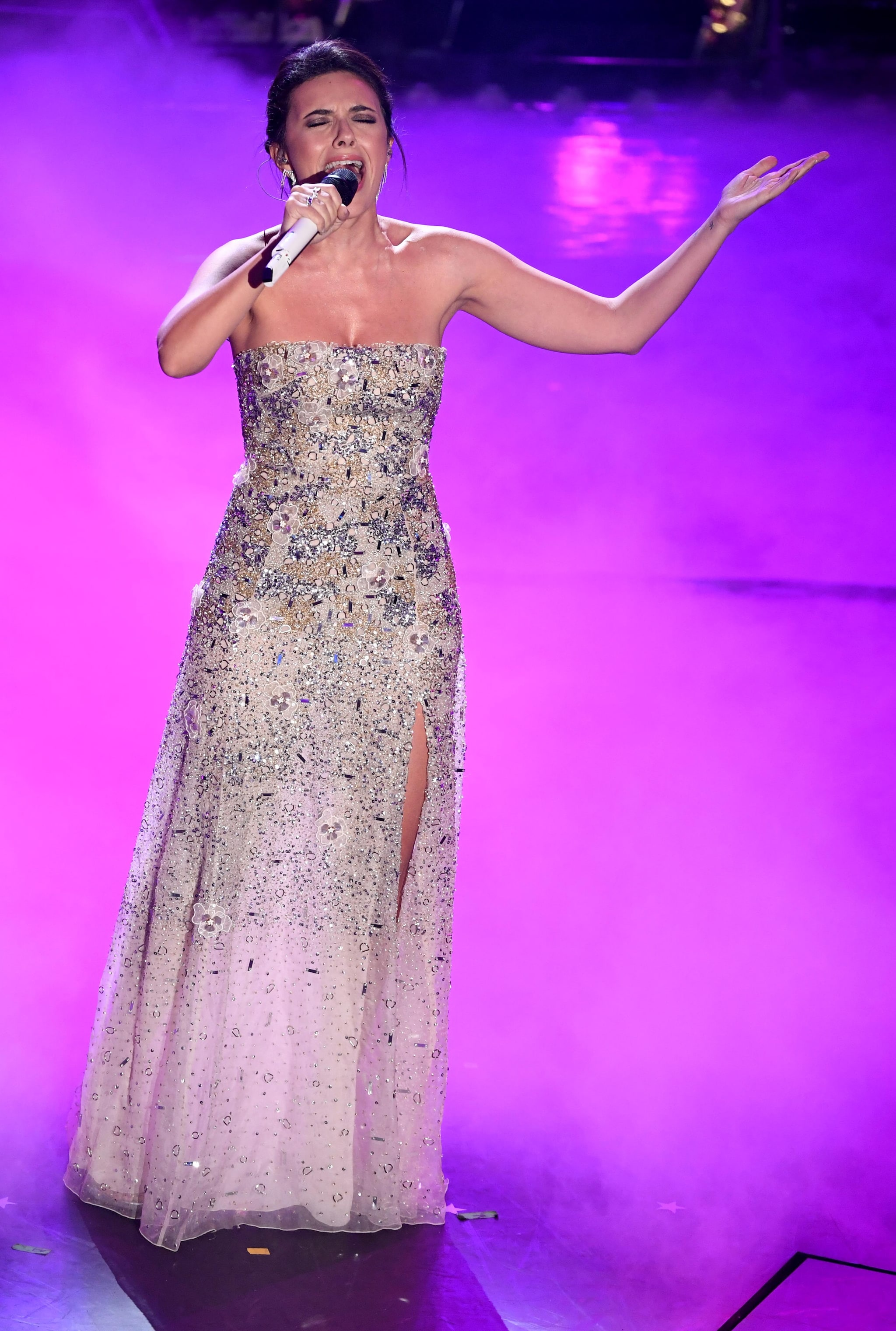 Serena Rossi nel 2019 a Sanremo