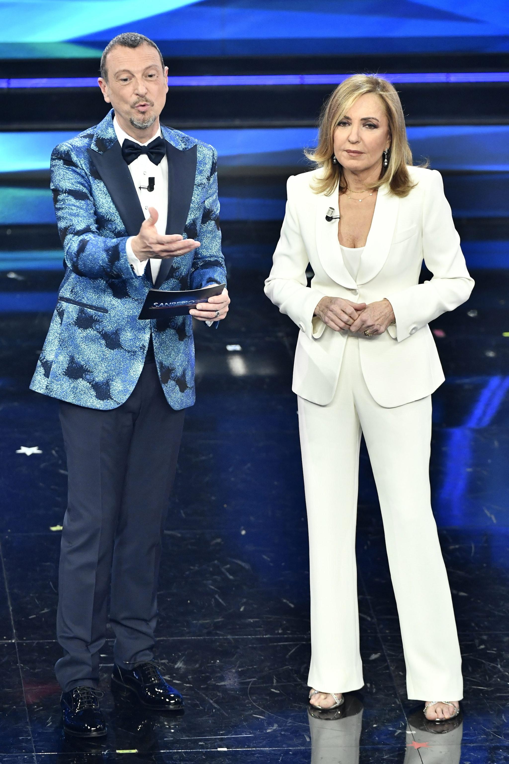 Barbara in Giorgio Armani