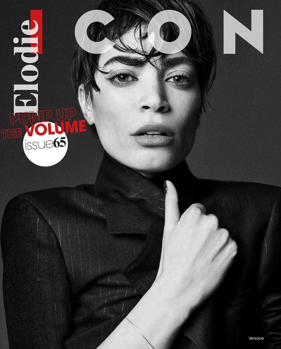 Elodie è la prima donna sulla copertina di Icon