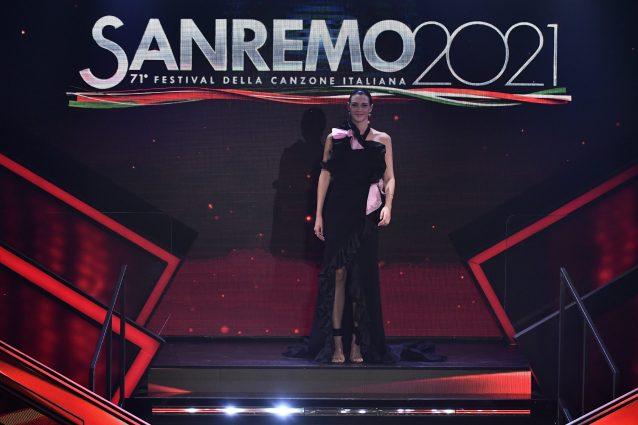 Vittoria Ceretti a Sanremo 2021