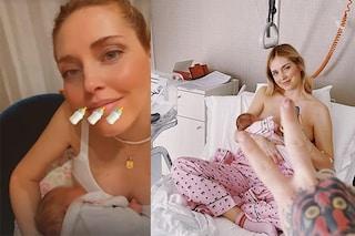 Chiara Ferragni allatta al seno sui social: finalmente distruggiamo un altro tabù sul corpo delle donne
