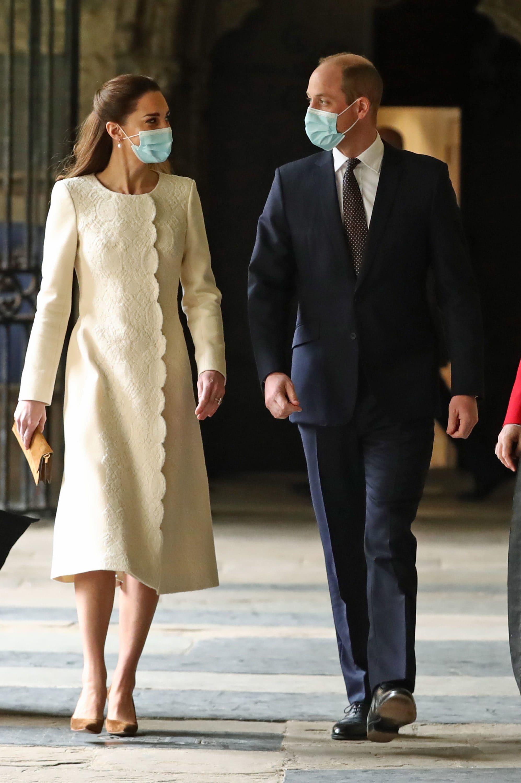 William e Kate tornano a Westminster