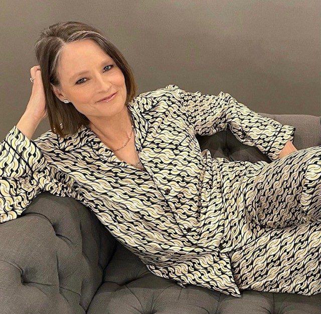 Jodie Foster in Prada
