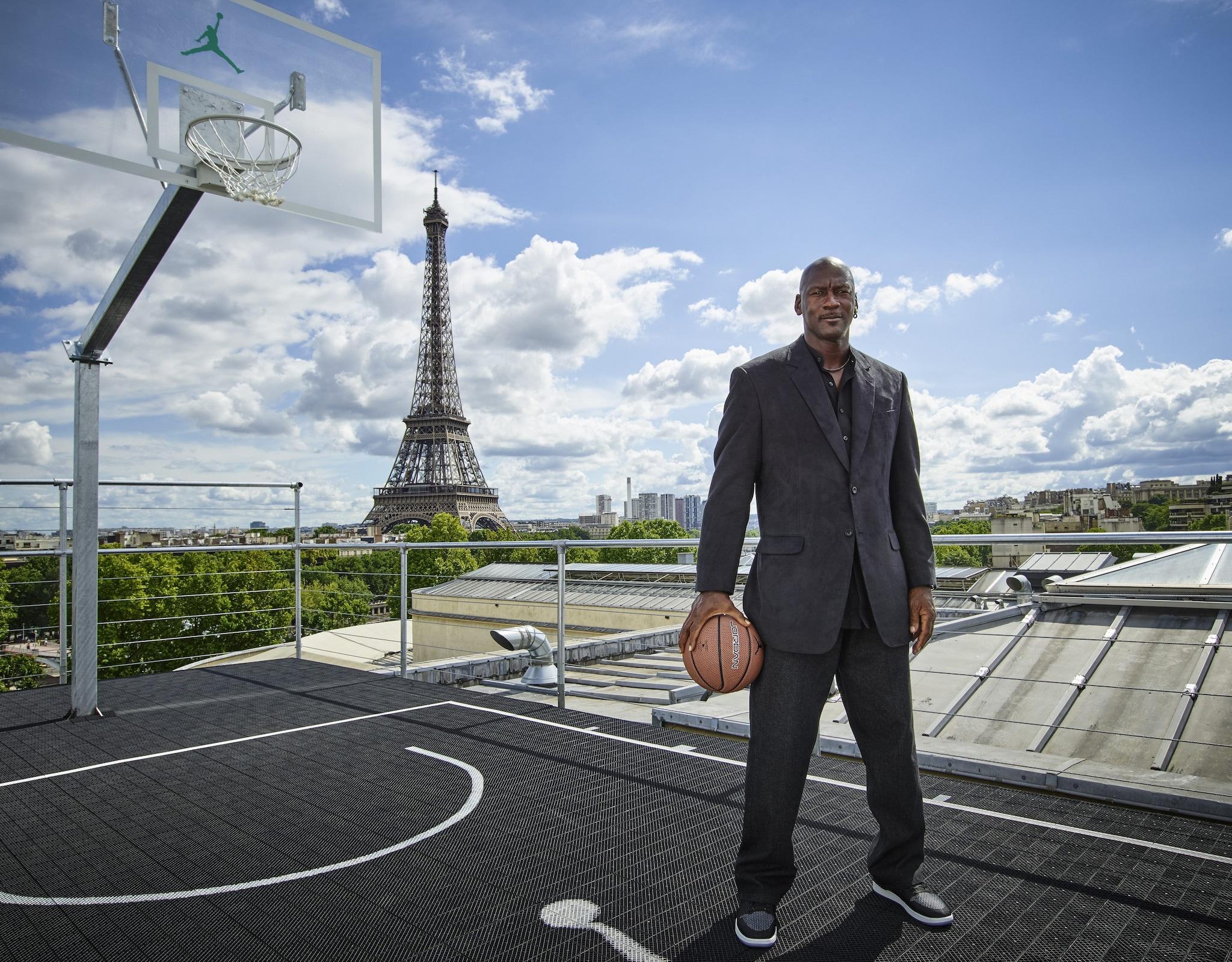Michael Jordan a Parigi per il trentesimo anniversario dal lancio