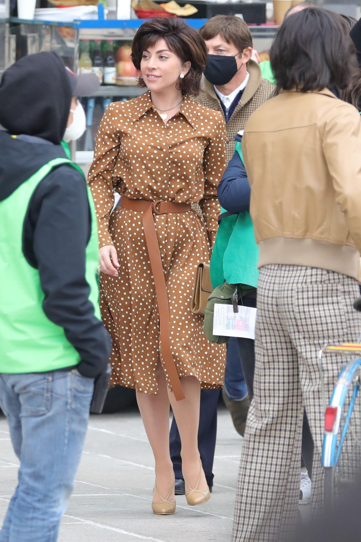 Lady Gaga in Max Mara