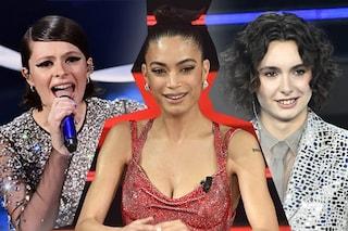 Sanremo 2021, i voti ai capelli di cantanti e ospiti: meravigliosa Elodie, delude Madame