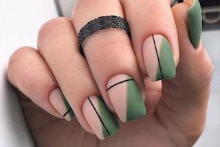 Unghie verde pistacchio, la tendenza per la manicure della primavera 2021