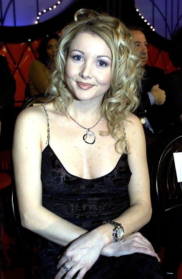 Angela Melillo ai tempi del Bagaglino