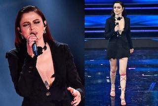Annalisa, svolta sexy a Sanremo: al Festival sfoggia la maxi scollatura rivelatrice