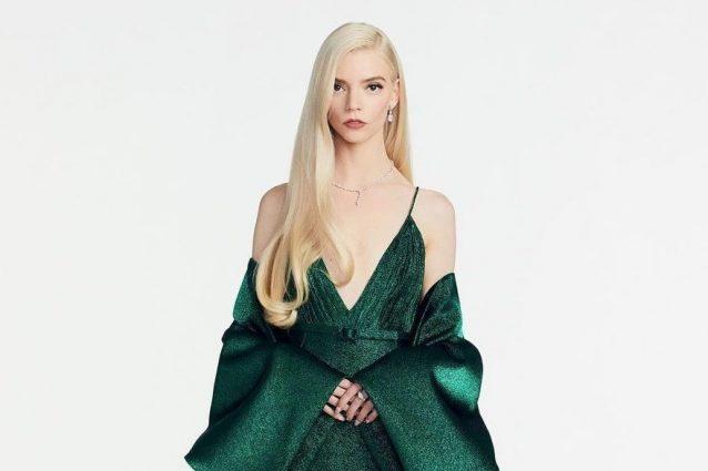 Anya Taylor–Joy veste Dior