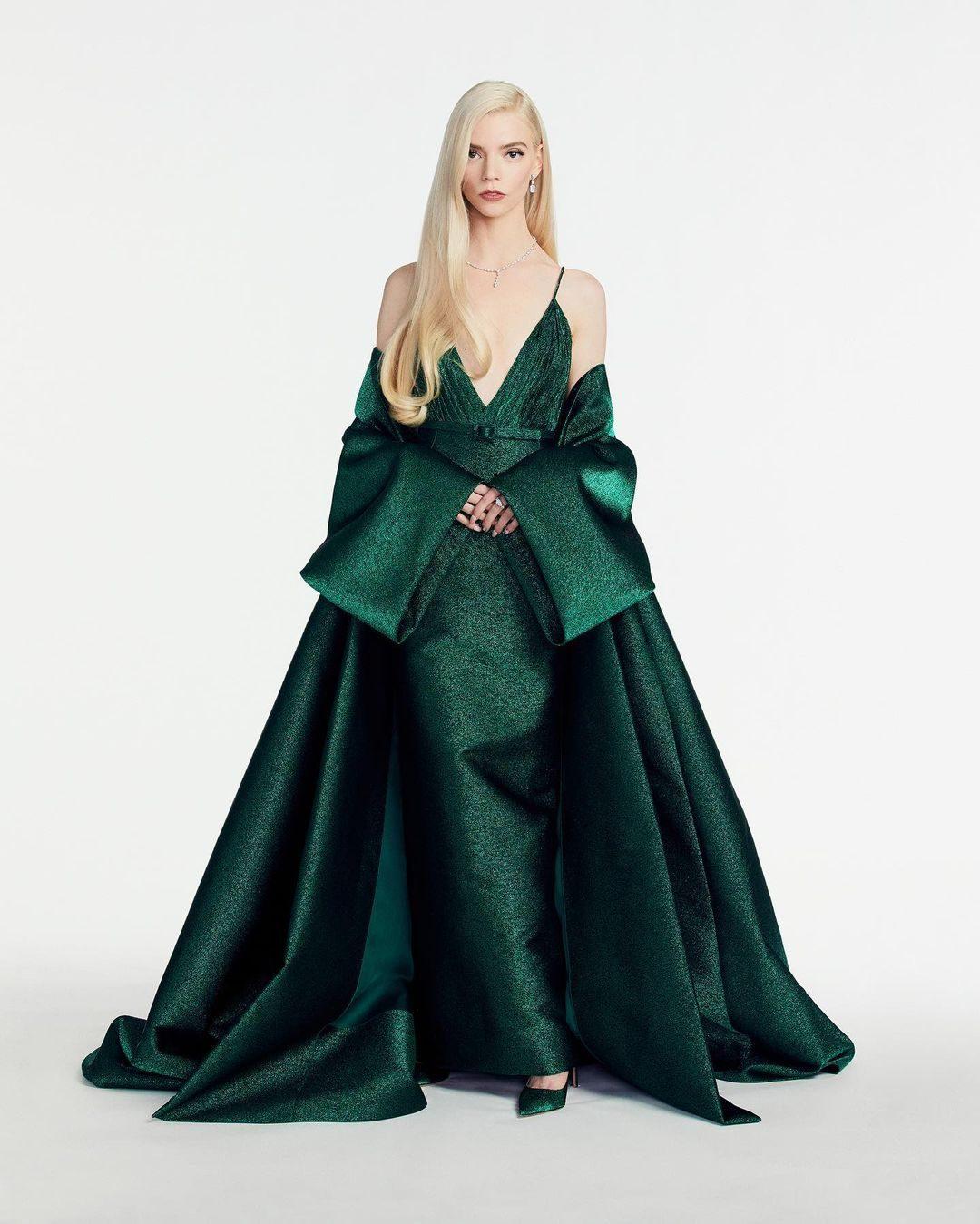 Anya Taylor–Joy in abito Dior