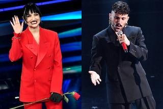 Arisa e Aiello con lo stesso completo over a Sanremo: perché non sapevano di essere vestiti uguali