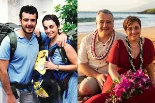 Benedetta Rossi da giovane col marito Marco: nella foto del passato la coppia è irriconoscibile