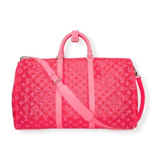La Keepall 50 Bandouliere Mesh di Louis Vuitton
