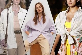 Le 9 camicie di moda per la Primavera/Estate 2021: righe, fiori e colori pastello sono di tendenza