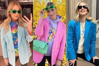 Chiara Ferragni col pancione tra maxi felpe e blazer over: è il trend premaman per la primavera
