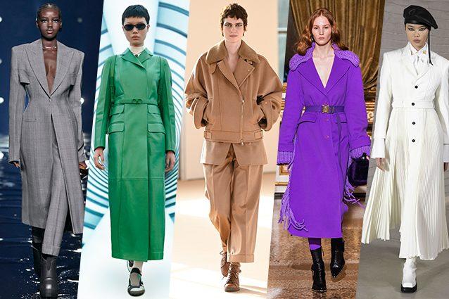 Viola, bianco e verde smeraldo: 10 colori di moda per il prossimo Autunno/Inverno 2021-2022