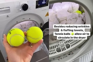 Lenzuola aggrovigliate nell'asciugatrice? Il trucco per evitarlo