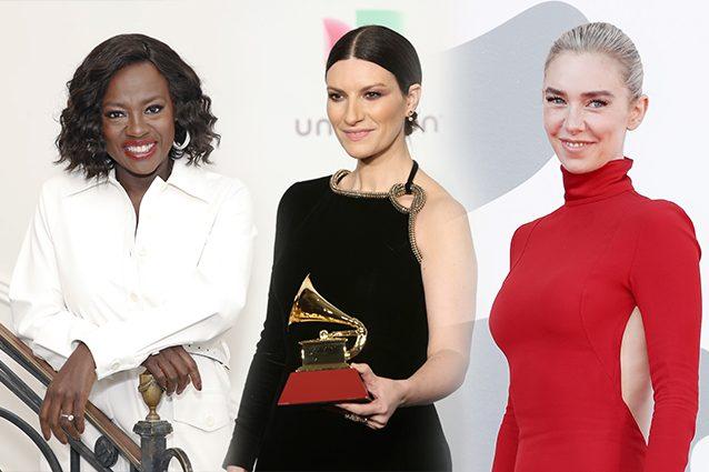 Viola Davis, Laura Pausini, Vanessa Kirby
