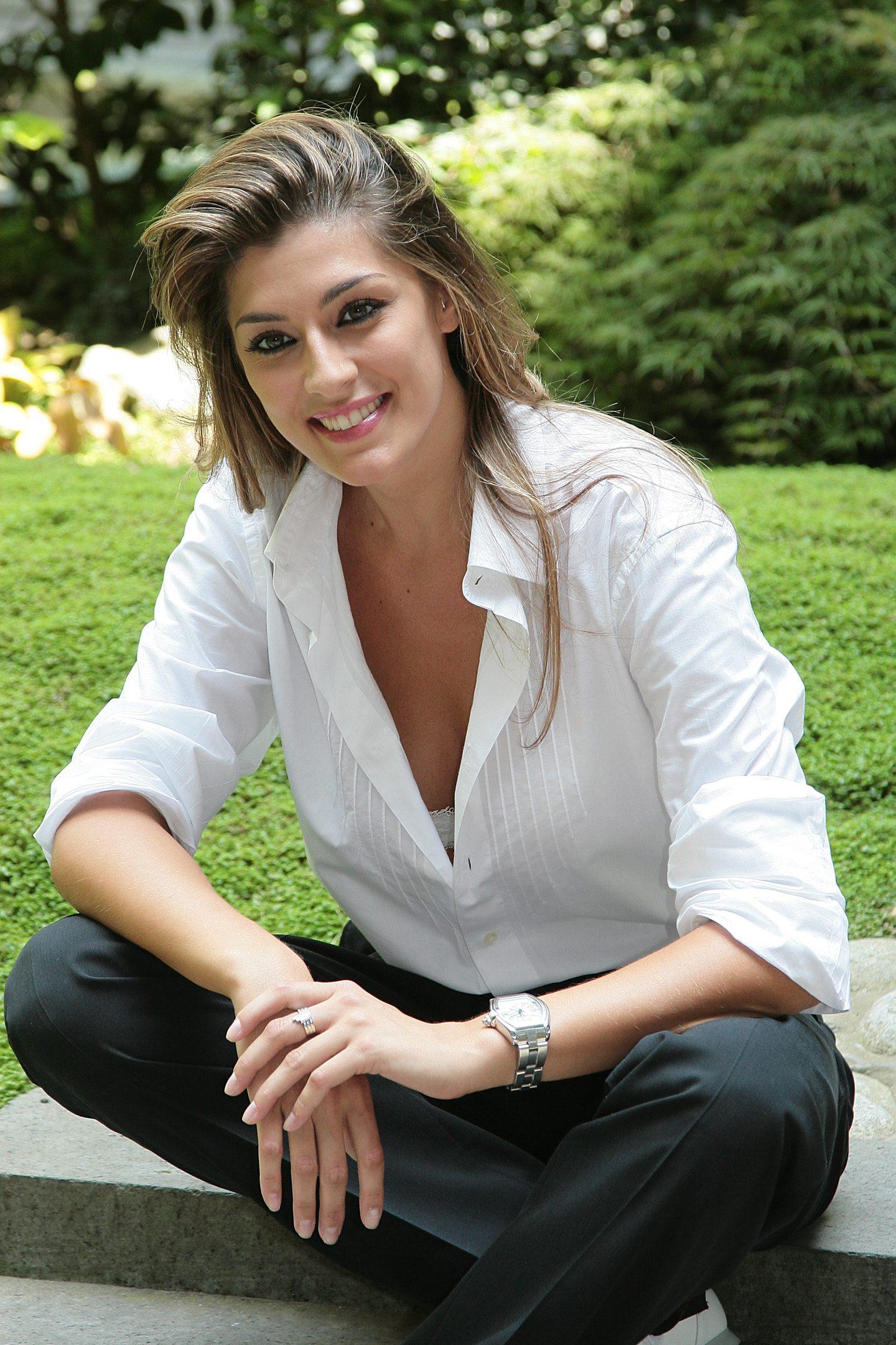 Elisa Isoardi nel 2008
