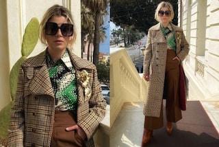 Emma Marrone a Sanremo come una diva: dopo il Festival indossa trench e maxi occhiali da sole