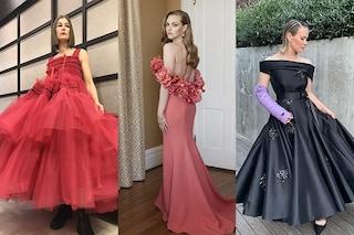 Abiti da principessa e anfibi: come si sono vestite le star per i Golden Globe senza red carpet