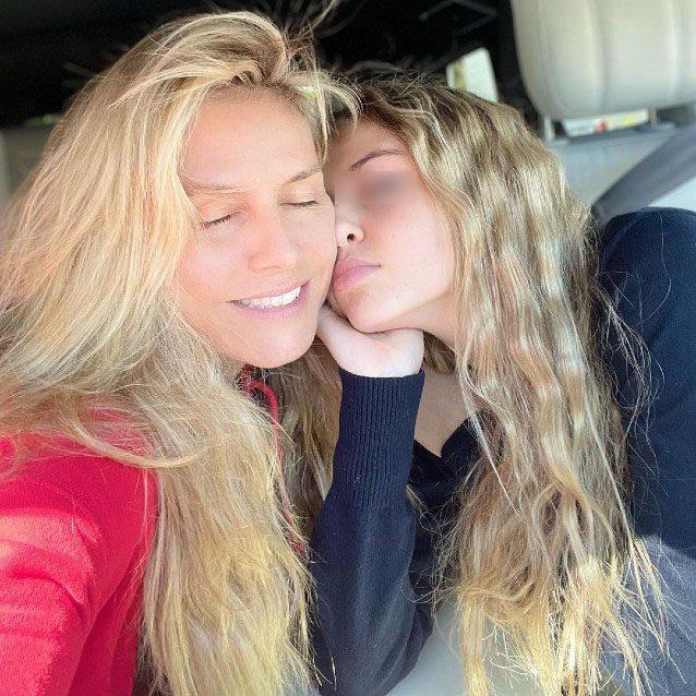 Heidi e Leni Klum