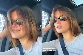 Kaia Gerber cambia look: addio capelli castani, ora è il momento delle sfumature caramello