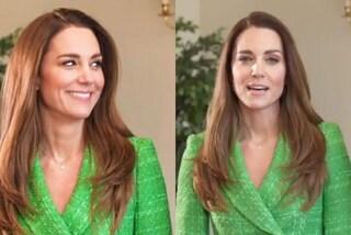 Kate Middleton in verde per San Patrizio: è regina del risparmio con la giacca doppiopetto da 60 euro